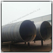 big size spiral welded steel pipe