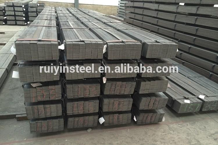 Hot rolled steel flat bar!low supply high demand!