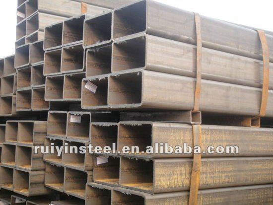 Weled Steel Pipe Seamless tube black or galvanized specification