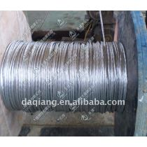 Galvanized steel wire strands for optical fiber cable