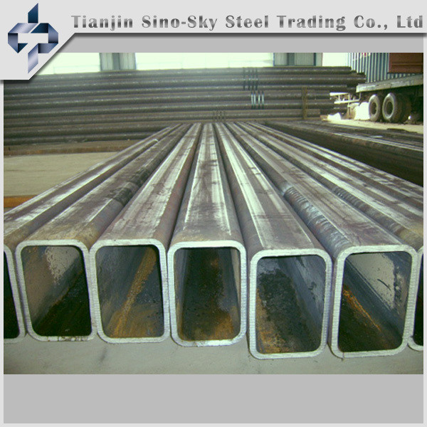 standard size galvanized square steel pipe and tube