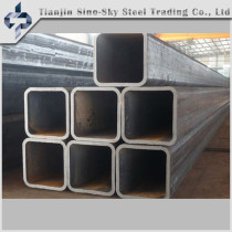 ASTM A106 mild steel square steel tube