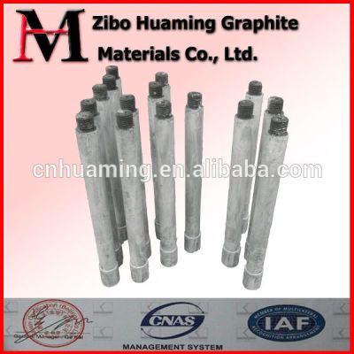 graphite rotor in aluminum liquid for sale with high quality