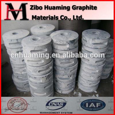 Anti-oxidation graphite impeller shaft