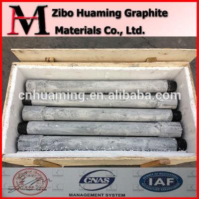 graphite rotor in aluminum liquid /Prevent Oxidation Graphite Rotor