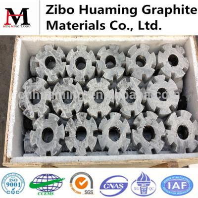 graphite rotor for aluminium melting