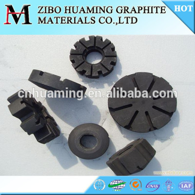 Aluminum Purify Graphite Rotor in China