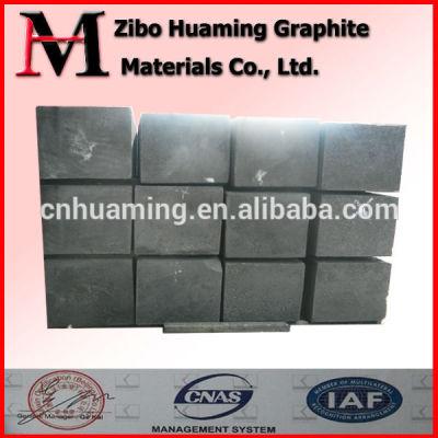 Extruded square graphite blocks