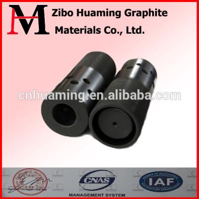 Continuous casting graphite crystallizer