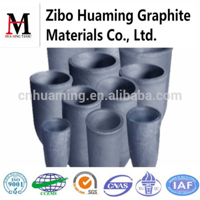 High Purity High Heat Conduction Graphite Crucibles For Melting Aluminum And Copper