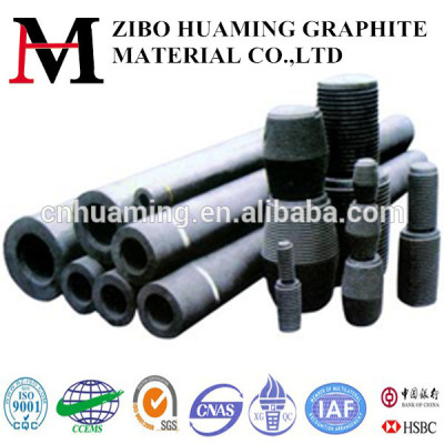 Graphite electrode for metallurgy industry