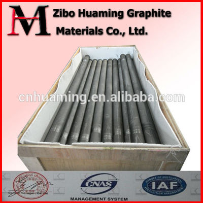 Fine grain good quality graphitized electrode rod