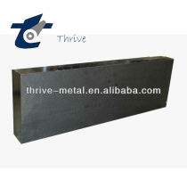 High density carbon anode