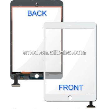 White Front Panel Touch Glass Lens Digitizer Screen Replacement Parts Ipad Mini