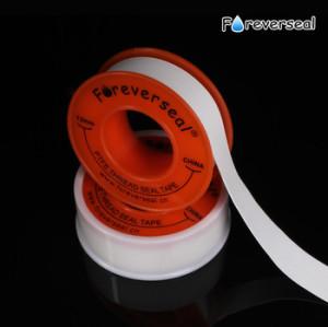 100% materie prime ptfe nastro in ptfe idraulico del nastro