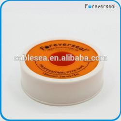 19 mm profesional de gas tubo de cinta cinta cinta de PTFE cinta de sellado