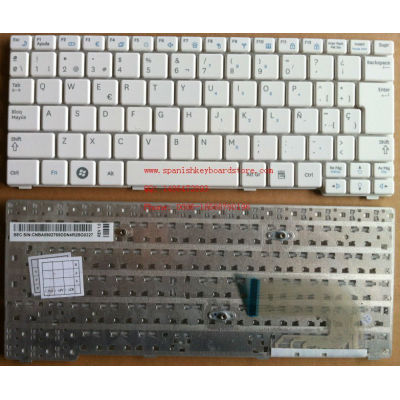 Spanish keyboard for Samsung N148 N150 White Spanish Laptop keyboard for Samsung teclado LA Latin keyboard for Samsung