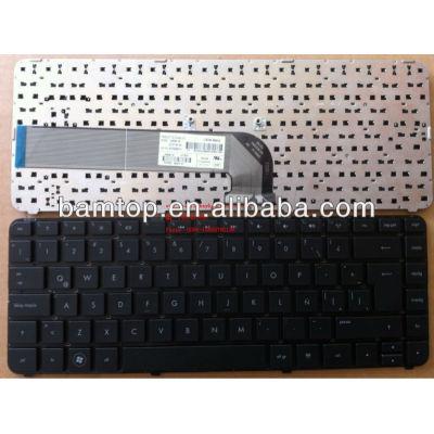 Spanish keyboard for hp DV4-4000 black LA laptop keyboard 645595-161 650470-161 Latin keyboard for HP COMPAQ SPANISH KEYBOARD