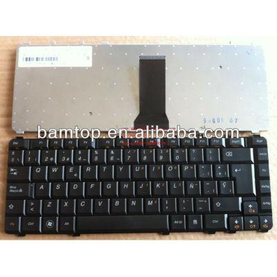 Spanish laptop keyboard for Lenovo Y450 Y550 black SP