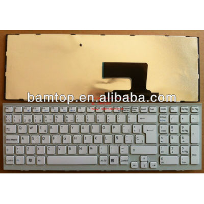 SPANISH laptop keyboard for Sony VPC-EE series