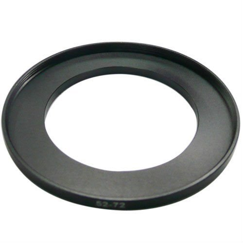 52-72 mm Camera Step Up Ring Filter Stepping Adapter