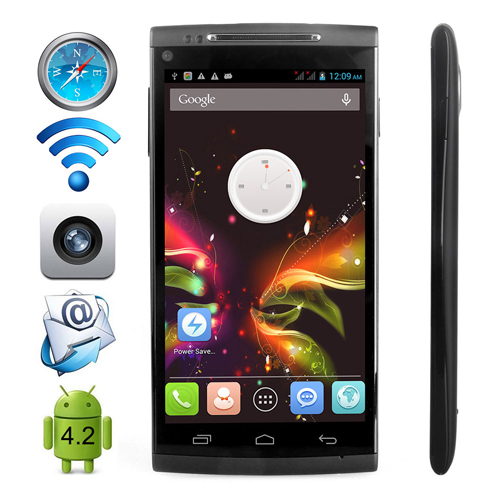 5 Inch Cheap Android 4.2.2 Mobile Phone Octa Core Cubot X6