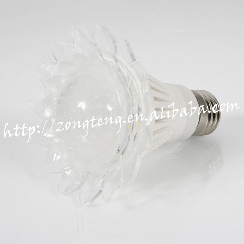 Hot Selling E27 10W 6000K Lotus Style Bubble New Model LED Bulb Lamps For Room Lighting