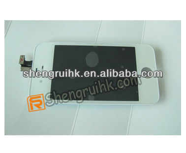 """3.5"""" For Iphone 4G 4S complete assembly white and black"""