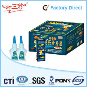 High quality super glue for shoes packed in 3ml