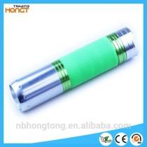 aluminum 1w led glare fluorescence shell flashlight (HT-LF12)