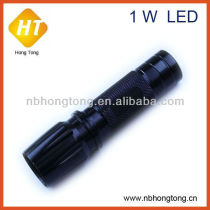 1w aluminum led police security flashlight (HT-LF22)
