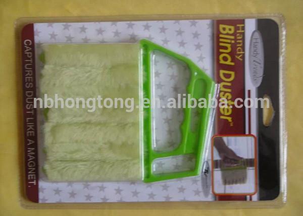 Popular 7 Fingers PP Window Blind Cleaning Brush Shutter Cleaning Brush