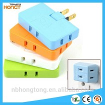 Creative 180 degree twist Power Adapter