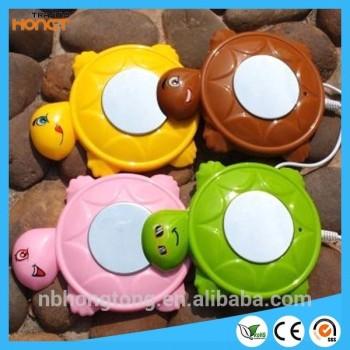 Turtle-shapedUSB Hubs Coffee Cup warmer Tea Heater