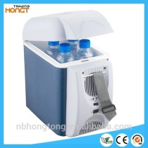 12V 7.5L mini portable Car or home use Refrigerator, vehicle refrigerator, travel cooler