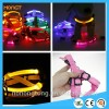 New fashion LED Dog Collar Pet Leash glow Pet Strap