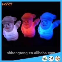 Santa Claus cartoon decorative fancy lights colorful led Christmas light