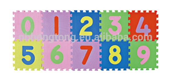 hot selling EVA puzzle mat children puzzle game