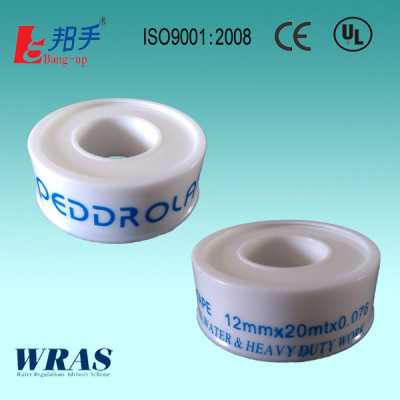PTFE Tape 12mmx20mtx0.076mm for water & heavy duty work