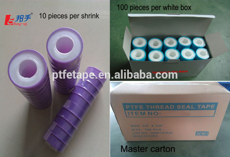 Gas Seal Thread Pipe Joint Tape
