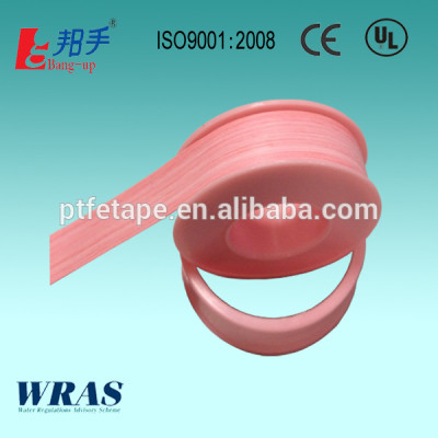 Pink Thread Seal Tape USA market with UL, CE, ISO , WRAS Approvals.