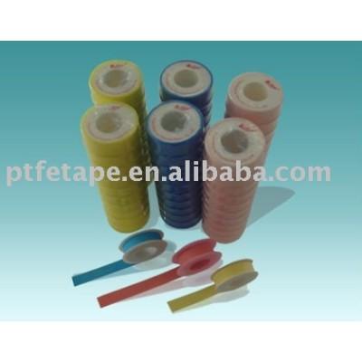 Blue,Pink,Yellow Ptfe Tape