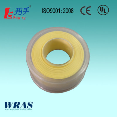 Yellow color PTFE tape for gas