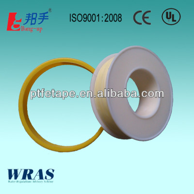 Yellow PTFE Thread Seal Tape UL, WRAS, CE, ISO 9001 Cetificates