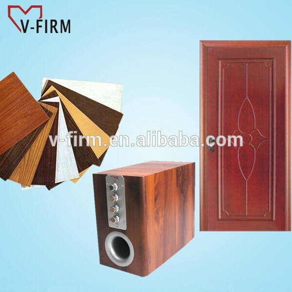 Pvc Wood Furniture ~ Pvc glue to bonding film use in speaker wood door