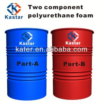 pu foam wheel with plastic raw material