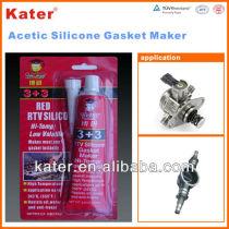 Gaket Maker Red Adhesive Sealant