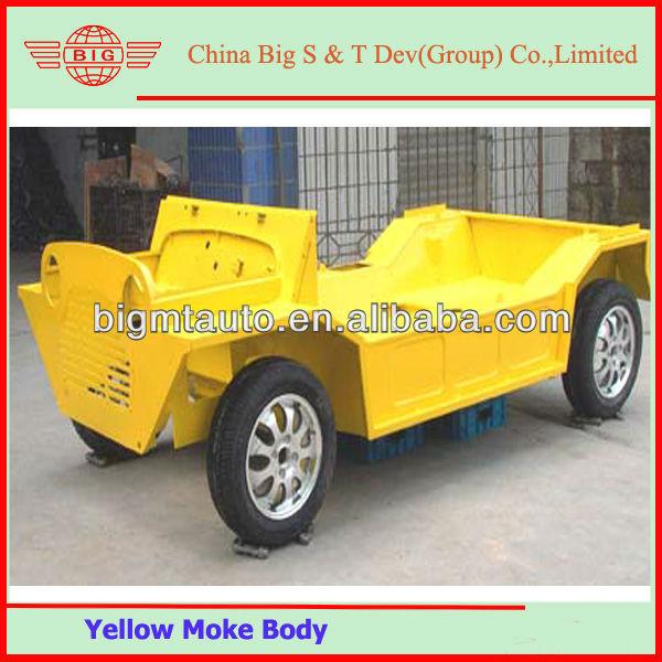 Original Yellow Painting Mini Moke Body Shell With Tyres