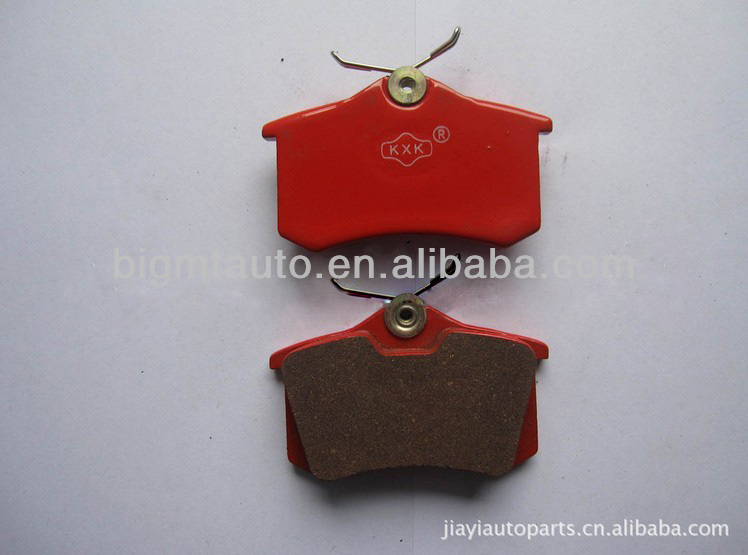 Rear Axle Semi Metal Brake Pads For Audi Buy Brake Pads