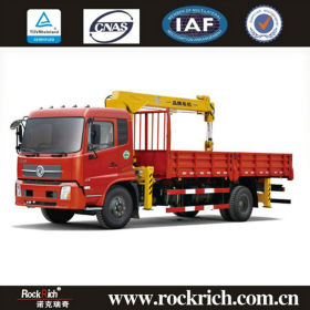 10m hydraulic crane,10 ton cargo truck crane in China
